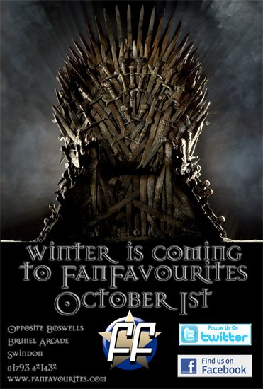 Winter is Coming to Fan Favourites Swindon