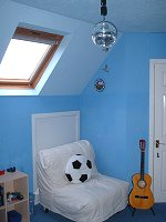 Loft conversion - playroom