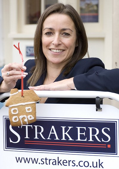 Strakers estate agent Emma Woodhouse at the opening of their new Marlborough branch
