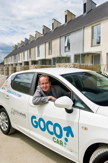 Kevin Mcloud car share scheme in Swindon