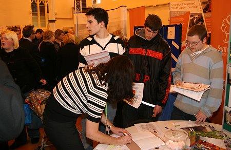 Swindon Young Persons Job Fair 2010