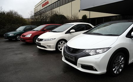 Honda Civic Launch in Swindon