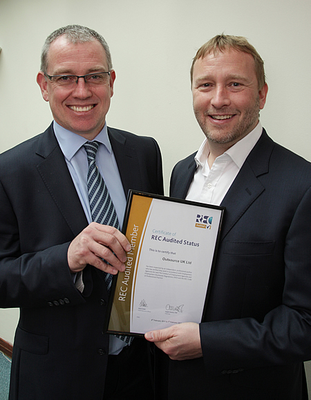 Outsource UK Swindon Receives Award