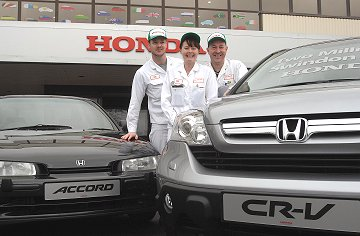 Honda 2 millionth car produced at Swindon factory