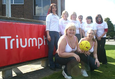 Triumph enter their netball team for Challenge Swindon 2008