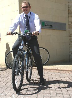 Arval celebrate Bike Week in Swindon