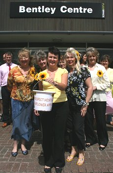 Flexspace in Swindon raise money for Prospect Hospice