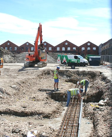 Thomas Homes developing the Churchward site in Swindon