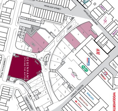 Regent Place Swindon plan