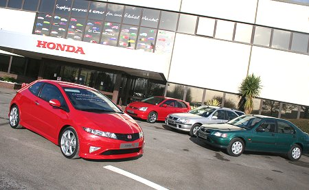 Swindon's Honda Plant