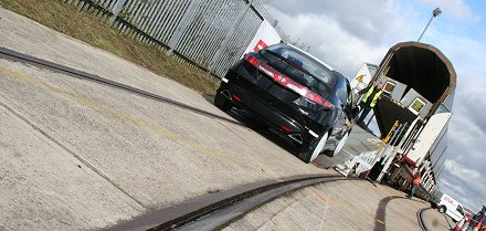 Swindon Honda cars export through rail