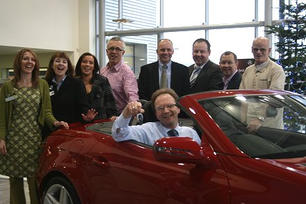 Mercedes-Benz Swindon and Prospect Hospice car giveaway