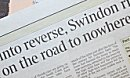 Swindon in the economic spotlight