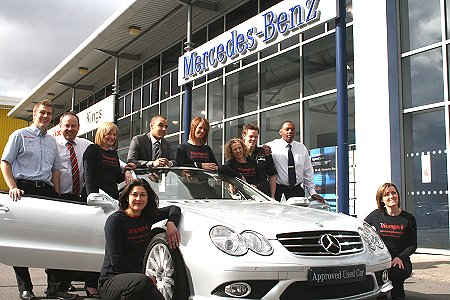 Mercedes-Benz of Swindon and Triumph at the official launch of Festival of Sport 2009