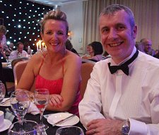 Jackie Kerr at Wiltshire Business Awards 2011
