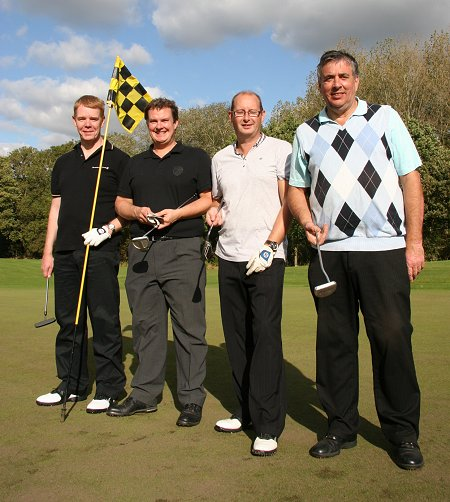 Monahans team at the Old Town Business Golf Day 2011