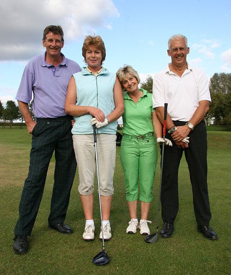 Wrag Barn team at the Old Town Swindon Golf Day 2011 at Broome Manor