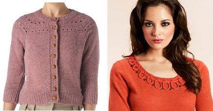 Vintage knitwear from stores in Swindon town centre