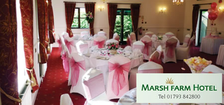 Marsh Farm Hotel Weddings Swindon