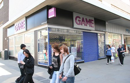 Closed Game stores in Swindon