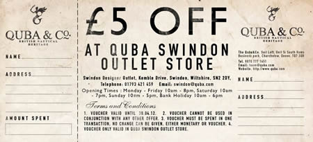 Quba & Co Swindon Designer Outlet
