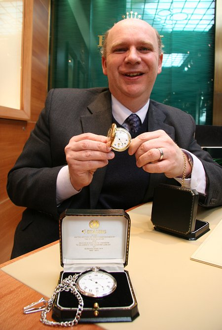 Richard Deacon of Deacon & Son Jewellers, Swindon
