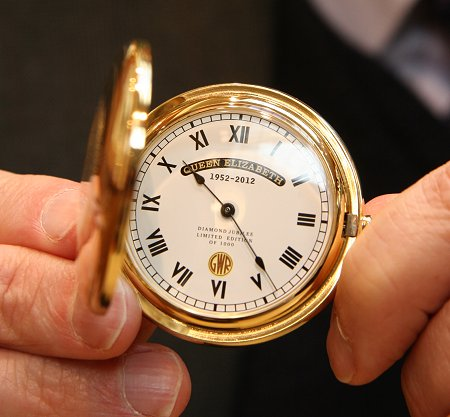 GWR Pocket Watch, Deacon & Son Jewellers, Swindon
