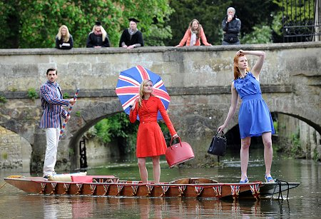 Swindon Designer Outlet Fashion Show on the Thames at Oxford