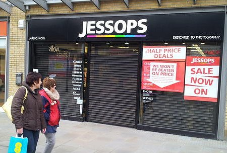 Jessops Swindon closed