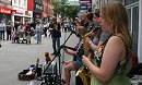 Top Busking in Swindon Town Centre
