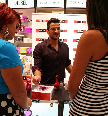 Peter Andre in Swindon