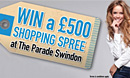 Win a £500 Shopping Spree!