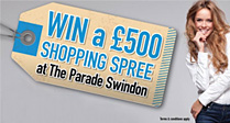 Win a �500 Shopping Spree at The Parade!