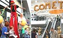 Comet store goes up in the world