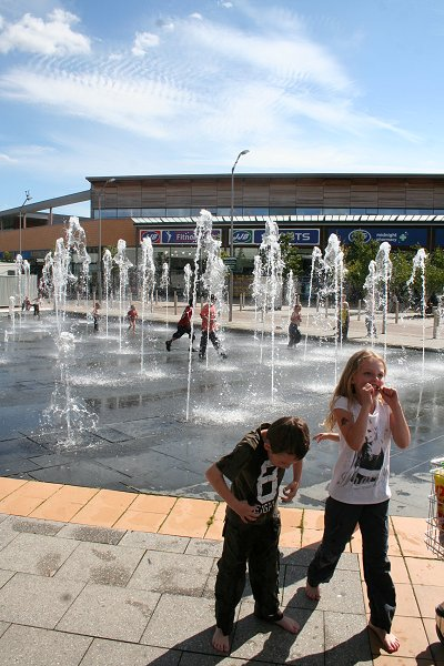 Asda Walmart Swindon Fountains