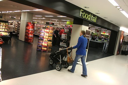 Marks and Spencer Swindon Food Hall