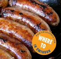 Sausages in Swindon