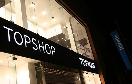 Top Shop & Top Man Swindon
