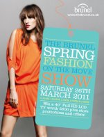 Spring fashion on the Move, Brunel Centre, Swindon