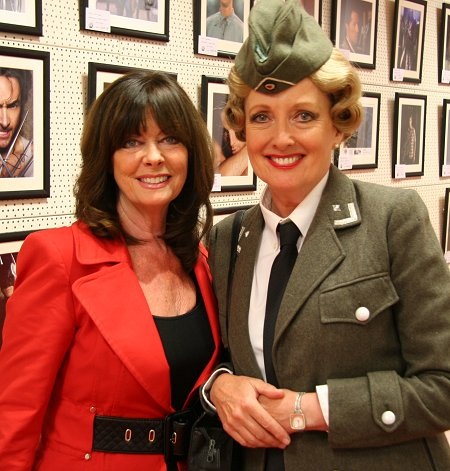 'Allo Allo in Swindon - Kim Hartman & Vicki Michelle at Fan Favourites in Swindon