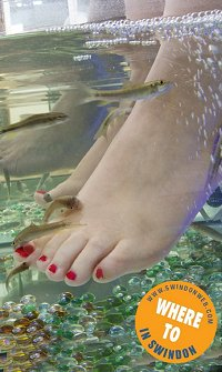 Gurra Fish pedicure Swindon