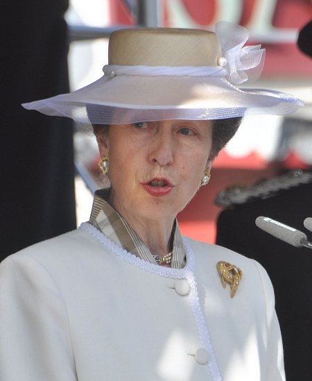 Princess Royal addresses at Royal Wootton Bassett