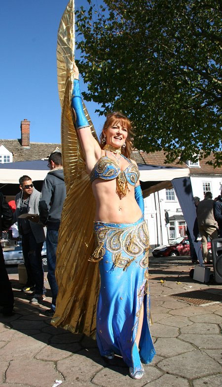 Belly Dancing in Highworth Market Square