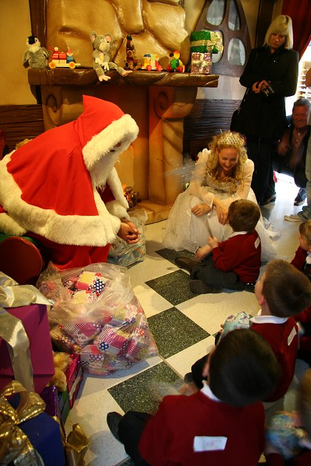 Santa's Grotto in Swindon
