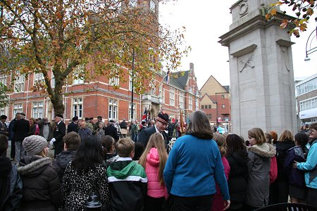 Armisttice Day Swindon 11 November 2011