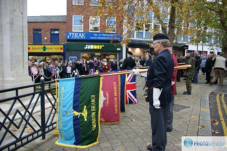 Armistice Day Swindon 11 November 2011