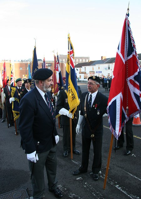 Swindon Remembrance Sunday 2011