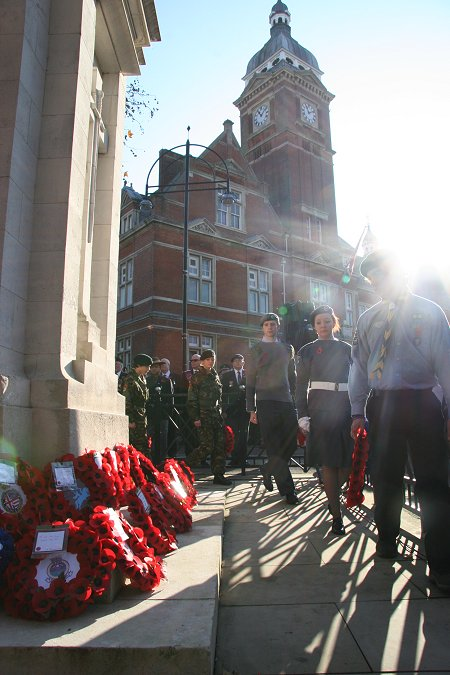 Remembrance Sunday Swindon 2011