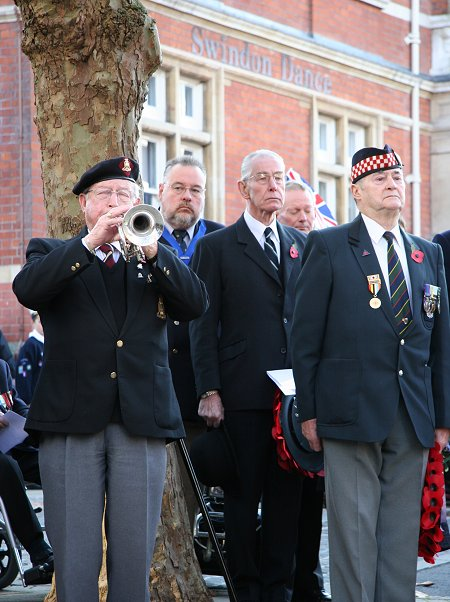 Remembrance Sunday in Swindon