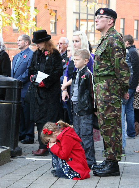 Remembrance Sunday in Swindon 2011